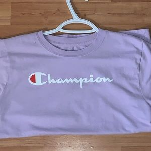 Light purple Champion T-shirt